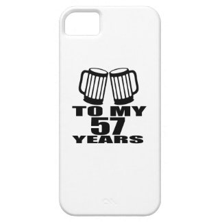 To My 57 Years Birthday iPhone SE/5/5s Case