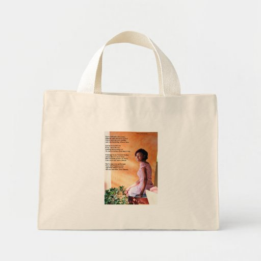 To My Daughter Canvas Bag