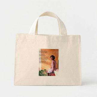 To My Daughter Mini Tote Bag