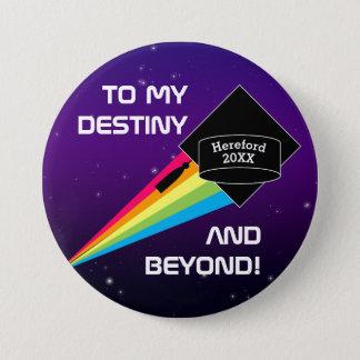 To My Destiny Personalized Graduation Pin