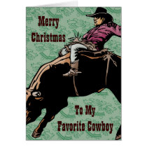 To My Favorite Cowboy Card