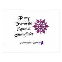 To my Favorite Sarcoidosis Warrior Postcard