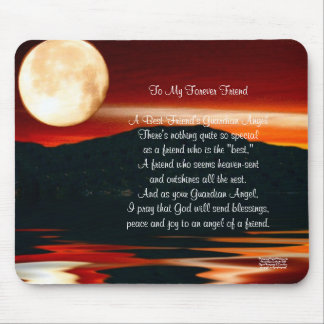 To My Forever Friend - Mousepad