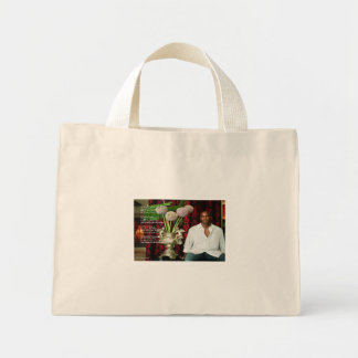To My Grandson Canvas Bags