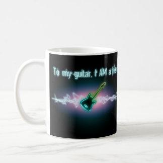 To My Guitar, I AM a Hero Mug