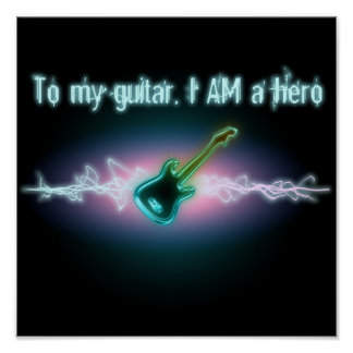 To My Guitar, I AM a Hero Poster