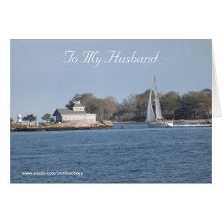 To My Husband Greeting Card