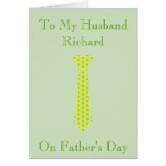 To my husband on Fathers Day