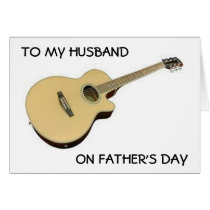 TO MY HUSBAND ON FATHER'S DAY-MAKE FAMILY SPECIAL CARD