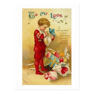 To My Love (2) Postcard