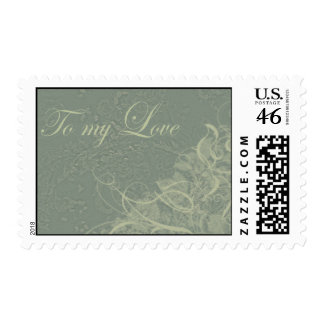 To my love postage stamp