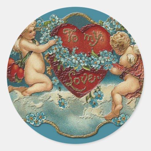 To My Love Sticker