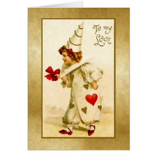 To My Love- Vintage Card