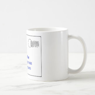 to my mailman classic white coffee mug