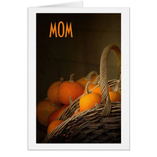 TO MY MOM AT THANKSGIVING=GRATEFUL FOR YOU GREETING CARD