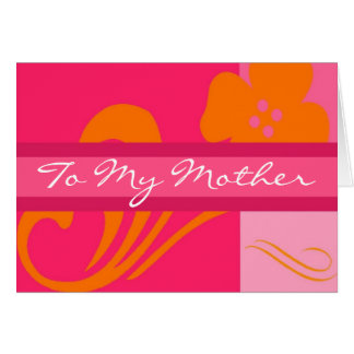 To My Mother Cards