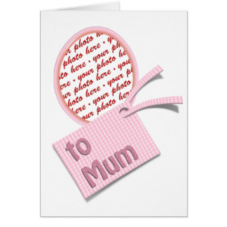 To my Mum on Mother's Day Memento Frame Greeting Card