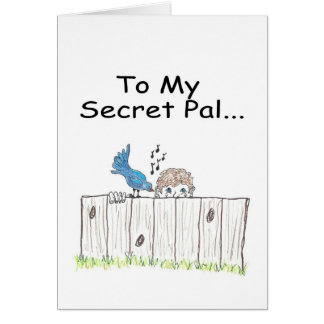 To My Secret Pal Greeting Card