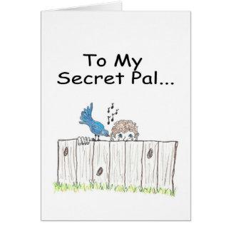 To My Secret Pal Greeting Card