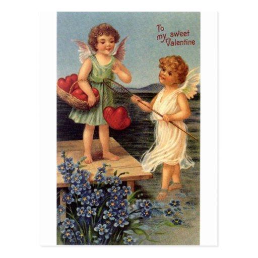 To my sweet Valentine Postcards