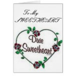 To My Sweetheart Greeting Card