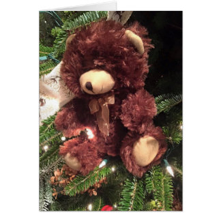 TO **MY TEDDYBEAR**-MERRY CHRISTMAS CARD
