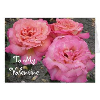 To My Valentine Greeting Card