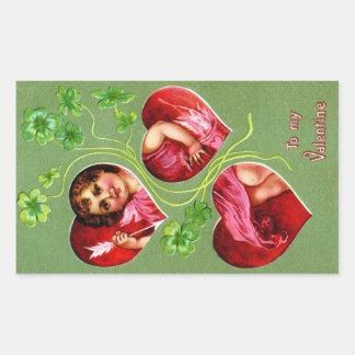 To My Valentine Rectangular Sticker