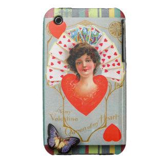 To my Valentine, Romantic Vintage iPhone 3 Case-Mate Cases