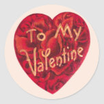 To My Valentine Stickers