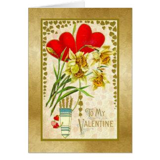 To My Valentine - Vintage Card