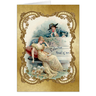 To My Valentine - Vintage Card - 2