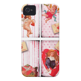 To My Valentine Vintage Valentine's Day Cupid Case-Mate iPhone 4 Cases