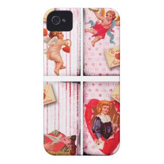 To My Valentine Vintage Valentine's Day Cupid iPhone 4 Case