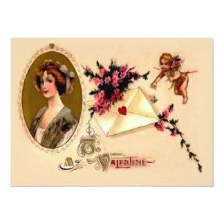 To My Vintage Valentine Announcements