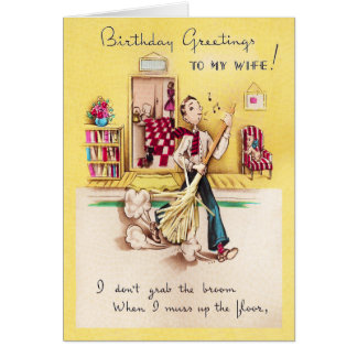 To My Wife Birthday Card