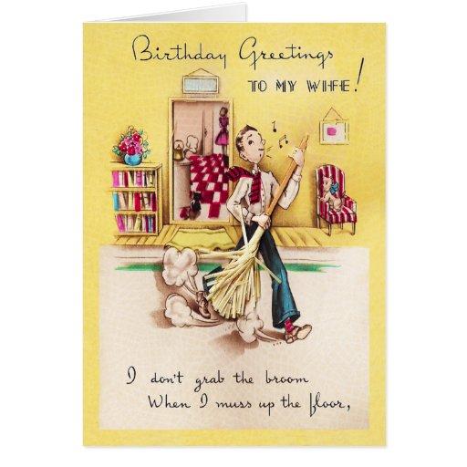 To My Wife Birthday Card