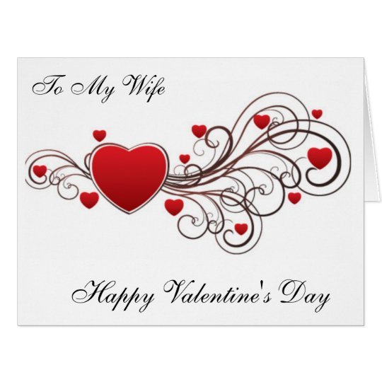To My Wife Happy Valentine's Day