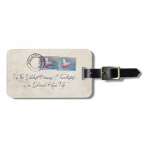 To My Wildest Dreams-Care of Flying Pigs Luggage Tag