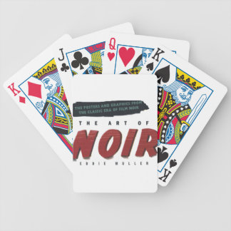 to noir art bicycle poker deck