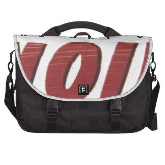to noir art laptop messenger bag