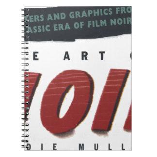 to noir art spiral note books