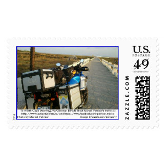 To North Cape (Norway), via Gibraltar 3 Postage