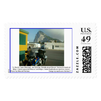To North Cape (Norway), via Gibraltar 4 Postage