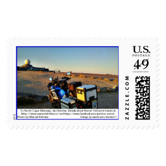 To North Cape (Norway), via Gibraltar 8 Postage