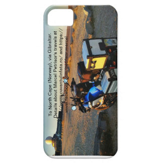 To North Cape (Norway), via Gibraltar. iPhone 5 Cover