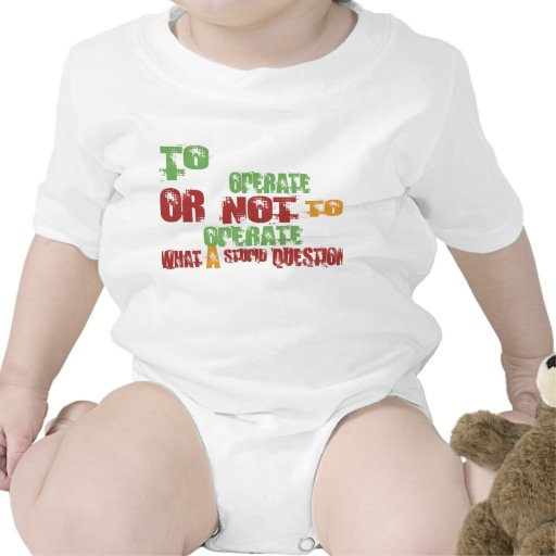 To Operate Bodysuits