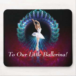 To Our Little Ballerina Mouse Pad