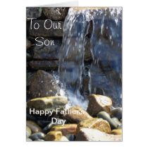 To Our Son Happy Father's Day. Card