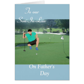To Our Son-In-Law Card